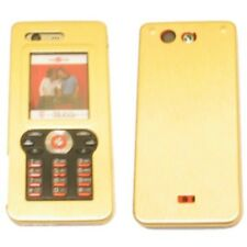 Alu Case Gold für Sony Ericsson W880i Hülle Schale