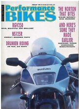 PB 1989-02 Norton Rotary RC588  NS125R RGV250 Harley 883 RG500 GPZ600