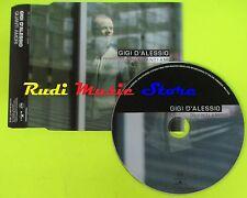 CD Singolo GIGI D'ALESSIO Quanti amori   PROMO 2004 Eu BMG mc dvd (S10)