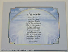 """Personalized """"MY GODFATHER"""" Poem GIFT For Your GODFATHER ... The PERFECT Gift..."""