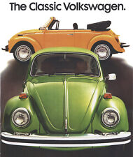 Vintage VW Beetle Advertisement A3 Poster Reprint