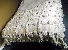 Vintage Wool/Cotton Sequined Moroccan Wedding Blanket/Rug/Wall Hanging Handira