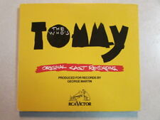 THE WHO's TOMMY ORIGINAL CAST RECORDING 3 TRK 1992 CD SINGLE DIGIPAK 61908-2 OOP