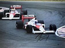 Alain Prost Hand Signed Marlboro McLaren F1 16x12 Photo 17.
