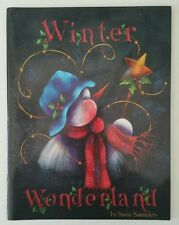 Winter Wonderland by Susie Saunders Vintage 1994 Tole Painting Instruction Book