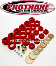 Prothane 7-110 1981-1991 Chevy GMC 4WD Blazer Jimmy Body Mount Bushing Kit Red