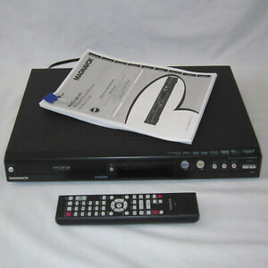 Tested Working Magnavox MDR513H HDD & DVD Recorder SDTV Tuner w/Remote & Manual