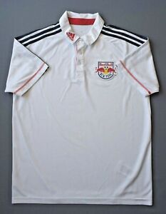 New York Rouge Bulls Jersey M Hommes Blanc Shirt Football Adidas Formation ig93