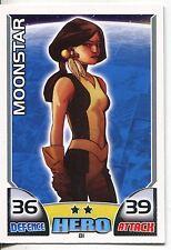 Marvel Hero Attax Series 1 Base Card #81 Moonstar