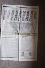 Vintage THE TIMES NEWSPAPER Report COMMONWEALTH CONFERENCE June 1977 NIGERIA