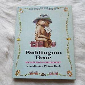 PADDINGTON BEAR Michael Bond & Fred Banberry 1972 Adventure Fantasy Fiction KIDS