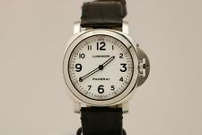 Panerai Luminor Base Historic PAM 114 White Dial Watch H Series