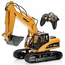 Large Metal Construction Toys Excavating RC Excavator Cat Digger Kid Shovel NEW