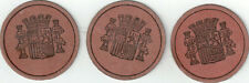 1 - Spanish Civil War Postage Stamp Money 1938,25 Centimos