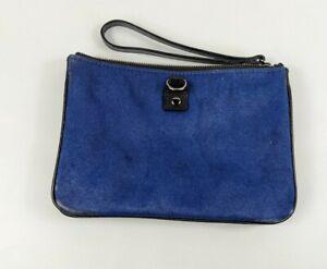 Gap Calf Hair/ Cow Leather Clutch Bag 20cm X 13cm