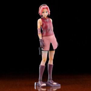 Neu Anime Naruto Shippuden Haruno Sakura PVC Figuren New No Box 25cm