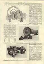 1915 Edgar Allen Swinging Jaw Stone Breaker Ball Mill
