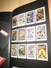 "Brilliant 'Marvel' Art Brochure Marvel ""Superheroes"" 2013 by Stan Lee"