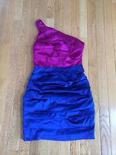 Express Size 0 One Shoulder Cocktail Dress