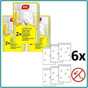 Piège Mites Alimentaires Anti Mites Cuisine Magasins Phéromone Inodore Pic® 3x2