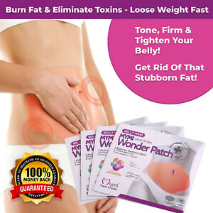MYMI WONDER PATCH BELLY PATCH SLIMMING WING WEIGHT LOSS FAT BURNER NAVEL STICKER