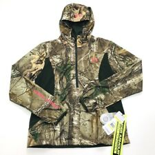 Under Armour Scent Control Early Season Speed Freek Camo Hooded Jacket 1247082 M