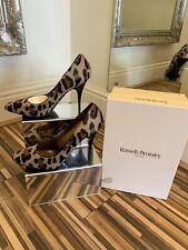 LK Bennett Pony Piel Leopardo Zapatos usados una vez!