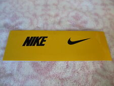 Nike Eye Shield Decals Size OSFM Yellow 1 Pair - New