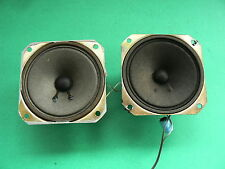 ORION TW-35 TWEETERS ALNICO 8 ohm Made in Japan -- TESTED --