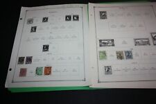 Lot of 150 + ROMANIA Stamps on  Album Pages Mainly Early Nice VALUE