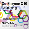 360 x Co-Enzyme Q10 Coenzyme CoQ10 Complex 500mg Antioxidant Heart Energy