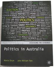 Politics in Australia by John Tate & Martin Drum (2012) Paperback