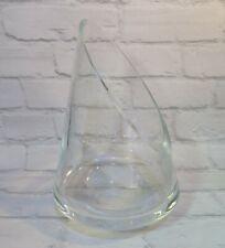 Grand lourd Art Glass Vase