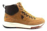 Stivaletto da uomo giallo US Polo ASSN 4108 scarpe scarponcini casual trekking