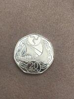 🇮🇲 Isle of Man 2019 Viking Long Boat Ship 20p Coin