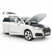 1:32 Audi Q7 SUV Model Car Diecast Gift Toy Vehicle Kids Sound White Collection
