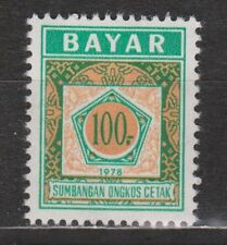 Indonesia Indonesie dienst zegels nr 18 postfris MNH service stamps 1978