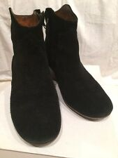 Isabel Marant SZ 37/US 7  Dusty Black Suede Dicker Ankle Boots Booties