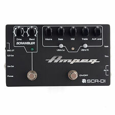 Ampeg SCR-DI Guitar Effect Pedal Lot DR