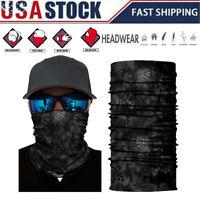 Balaclava Neck Tube Scarf Bandana Face Cover Neck Gaiter Headwear Outdoor US