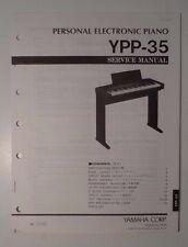 Original Yamaha YPP-35 Personal Electronic Piano SERVICE Manual