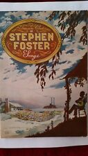 Collectible Rare Book Treasure Chest of Stephen Foster Songs 1940