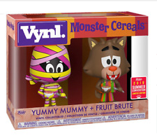Funko Vynl Monster Cereals Yummy Mummy + Fruit Brute 2018 Summer Convention T-72
