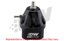 DeatschWerks DW Fuel Pressure Regulator - DWR1000 6-1000-FRB Anodized Black FPR