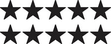Set of 10 Small Star Decal Window Sticker Tumbler Decor Space Vinyl Kids Target