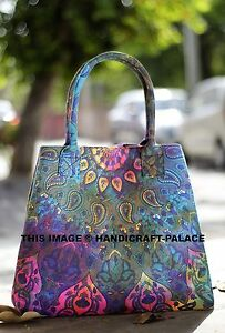Indian Cotton Mandala Star Handbag Tote Shoulder Bag Beach Women's Shoulder Bag