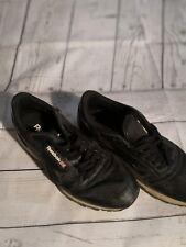 Vtg Reebok Classic Black White Mens Running Tennis Shoes Us 8