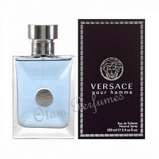 Versace Pour Homme Eau de Toilette Spray 3.4oz 100ml * New in Box Sealed *