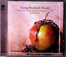 HANDEL 8 Suites for Harpsichord 1720 LUDGER REMY 2CD CPO Cembalo Clavecin