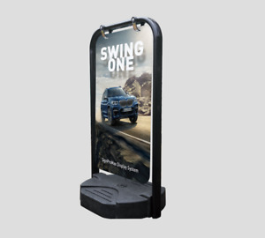 A2 Swing Pavement Sign A-Board Display stand panel size 750cm x 440cm